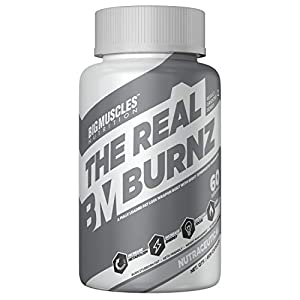 Bigmuscles Nutrition The Real Burnz Fast Acting Fat Burner (60N) | Weight Management | Increased Energy, Endurance…