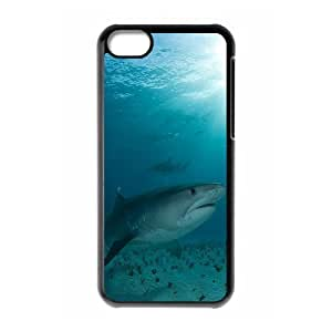 Protection Cover Hard Case Of Deep Sea Shark Cell phone Case For Iphone 5C