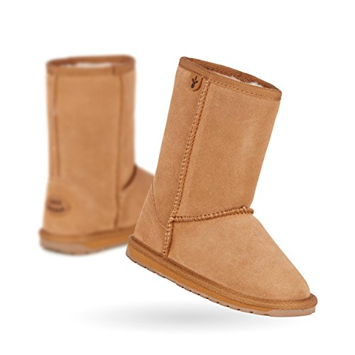 EMU Australia Wallaby Classic Lo Boot (Toddler/Little Kid/Big Kid),Chestnut,10 M US Toddler by EMU Australia