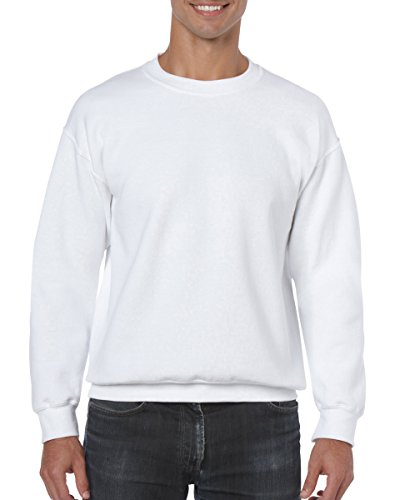 (Gildan Men's Heavy Blend Crewneck Sweatshirt - XXXXX-Large - White)