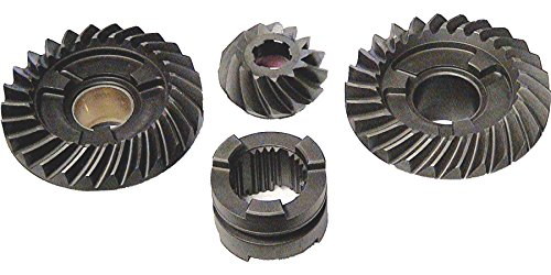 Lower Unit Gears - 4 piece Gear Set for Johnson / Evinrude 85-140 HP V4 Outboard Motor 1978-2012