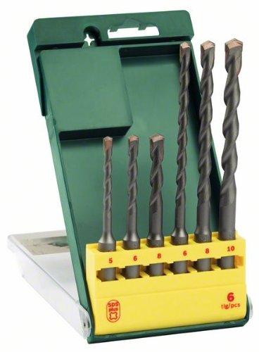 Hot Bosch 2607019447 Hammer Drill Bit-Set Sds-Plus 6 Pcs for cheap