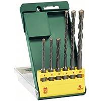 Bosch 2607019447-000, Jogo de Brocas SDS-Plus, Verde, 6 Peças