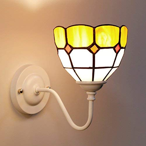 FuweiEncore Korean Style Style Style Garden Wandleuchte Nacht Schlafzimmer Wohnzimmer Korridor Wand Mittelmeer Wandleuchte, Style Five + Glühlampe ed2047