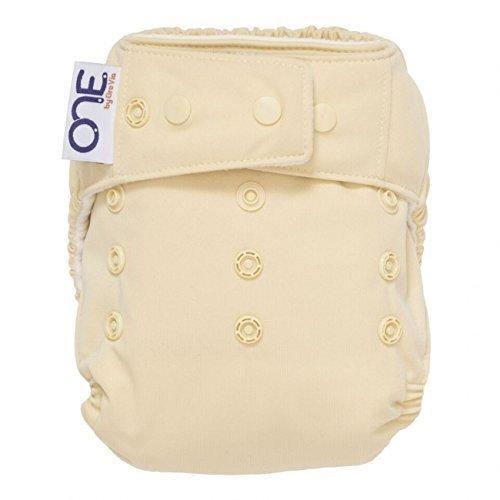 GroVia O.N.E. Reusable Baby Cloth Diaper (Vanilla)