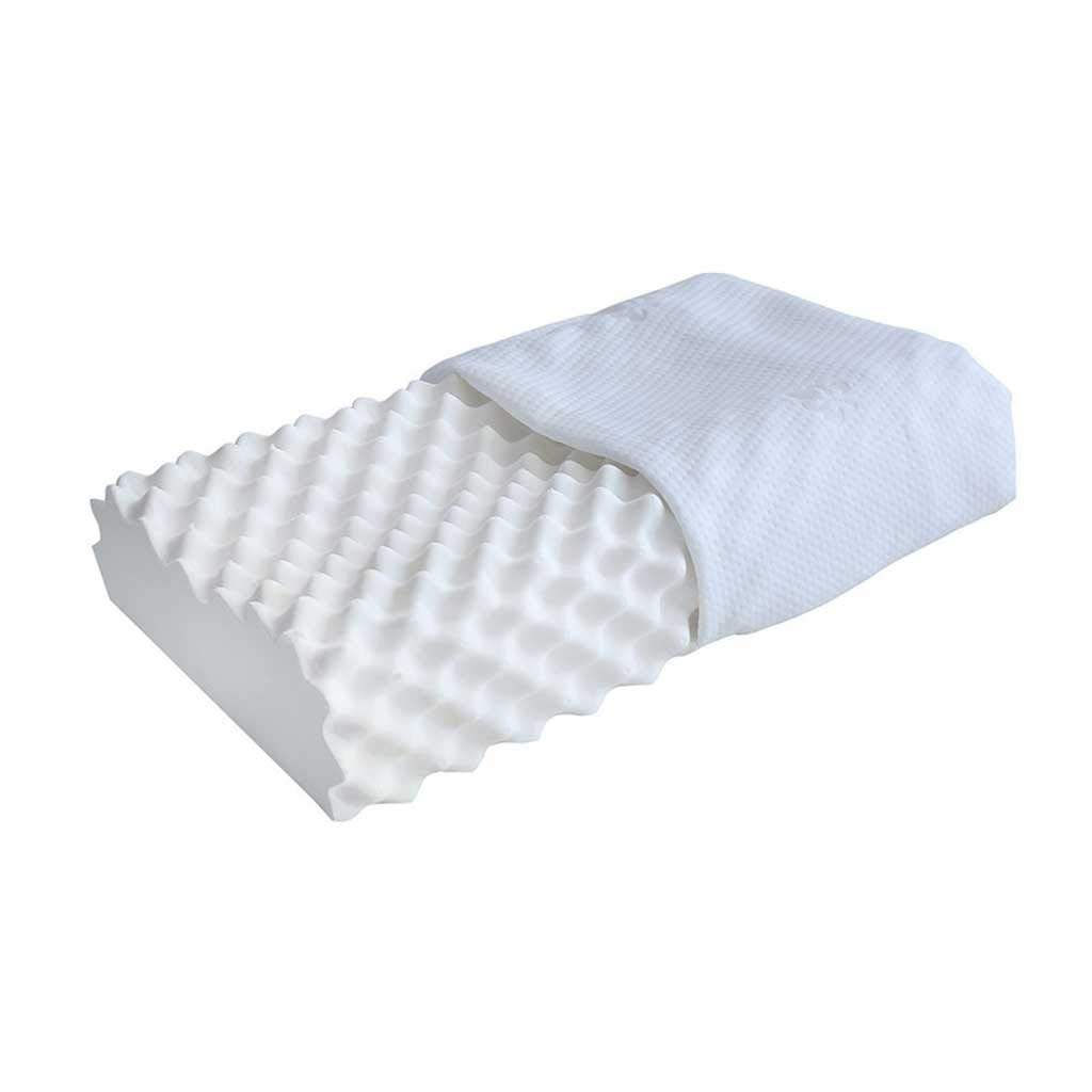 STUNNERWEN Pillows for Sleeping Latxe Like Foam Pillow, Contour Pillows Orthopedic Pillows for Neck Support Pain Relief with Washable Breathable Cover