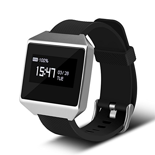 Smart Watch, Fosa CK12 Bluetooth Waterproof Sport Wristband Heart Rate Monitor Camera Smart Watch for Android iOS
