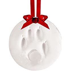 Tiny Ideas Pawprints Diy Holiday Keepsake Ornament