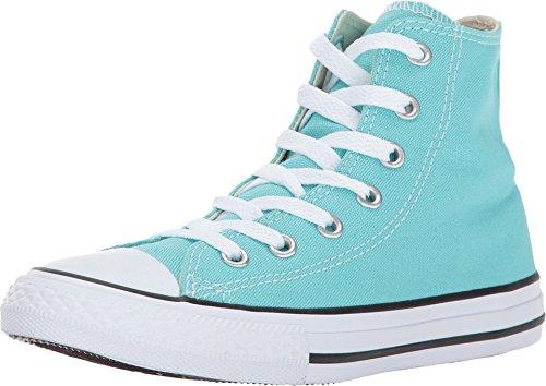 Aqua Chuck Taylors (Converse Chuck Taylor All Star Hi Little Kid's Shoes Light Aqua/White 357609f (11.5 M)