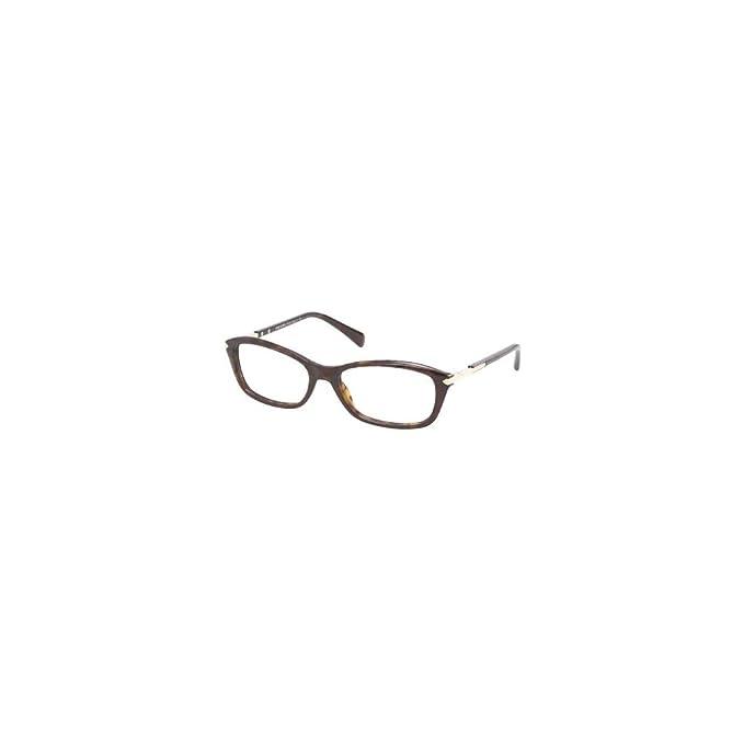1f87774fa7e4 Prada PR 04PV Glasses in Havana PR 04PV 2AU1O1 52  Amazon.co.uk ...