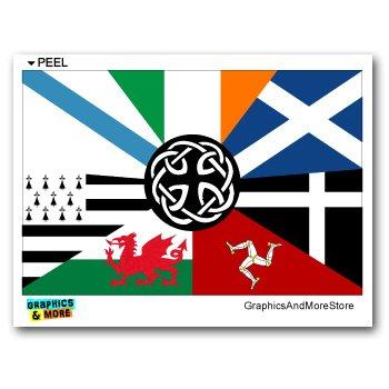 Irish Ireland Pan Celtic Nation Flags