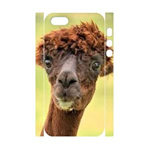 Customized Durable Case for Iphone 5,5S 3D, Alpaca Phone Case - HL-515601