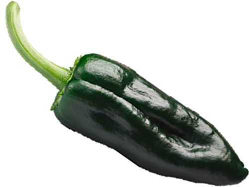 Ancho Poblano Pepper 30 Seeds Buy 2 Orders, Third Order is Free! Heirloom #60