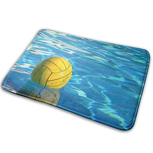 (Non-Slip Doormats Water Polo Entrance Rug Indoor/Outdoor Carpet Absorbs Moisture Washable Dirt Trapper Mats)