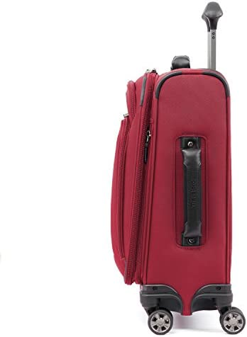 Travelpro Skypro Lite 20 International Expandable 8-Wheel Carry-On Luggage Spinner Merlot