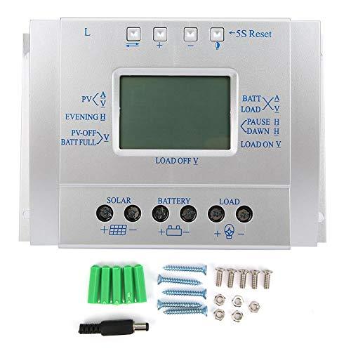 Solarladeregler MPPT 12V24V60A, LCD-Display Solarladeregler Regler Batterieladecontroller