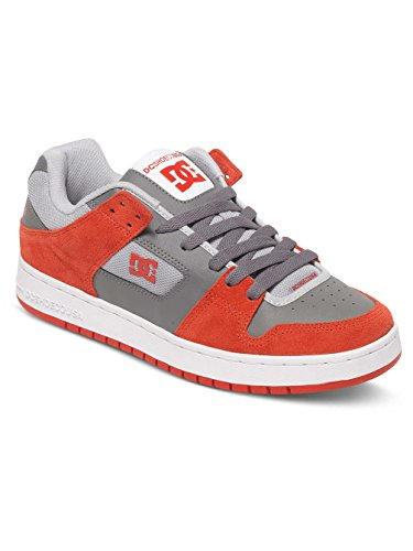 M Shoes Uomo Dc grey Basse Red Shoe Manteca Sneakers Rouge q4aEBwC