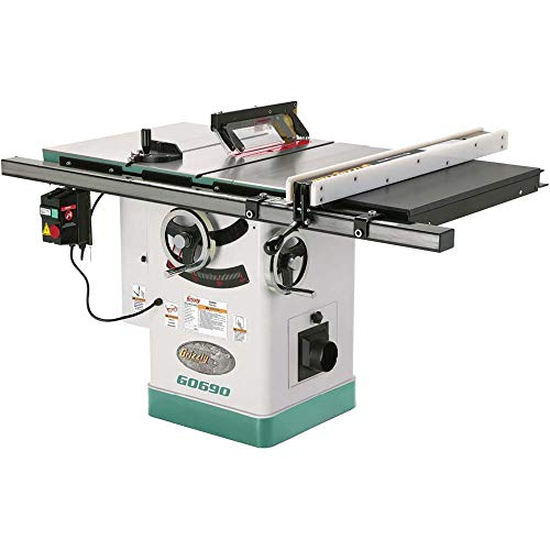 "Grizzly Industrial G0690-10"" 3HP 220V Cabinet Table Saw with Riving Knife"