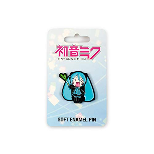 JUST FUNKY Official Hatsune Miku Enamel Collector Pin | Features Lovable Japanese Pop Icon | Perfect Accessory for Backpacks, Camera Bags, Hats, & More!