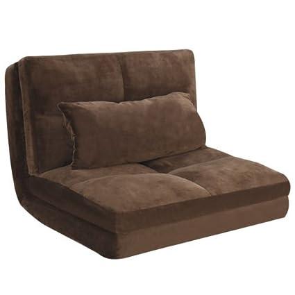 Amazon.com: Fold Down Chair Flip Out Lounger Convertible Sleeper ...
