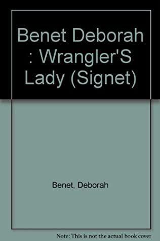 book cover of Wrangler\'s Lady