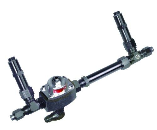 Professional Products 10431 Black Carburetor Fuel Inlet Kit with Regulator for Demon Carburetor ()