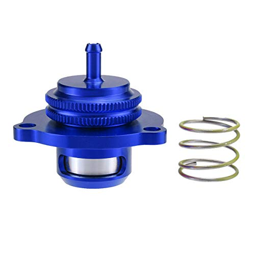 Hitommy Blue Recirculating Turbo Dump Blow Off Valve for Ford Focus RS MK2 ST MK3 Z20LET
