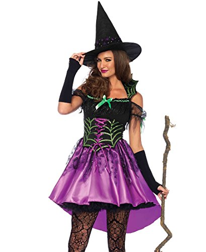Spiderweb Witch Adult Costume - Large ()