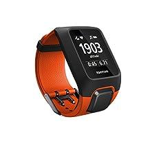 TomTom Adventurer GPS Outdoor Watch + Heart Rate Monitor + 3GB Music Storage + Bluetooth Headphones – Orange