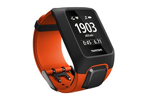 TomTom Adventurer GPS Hiking & Trail Running Watch + Heart Rate Monitor – Orange