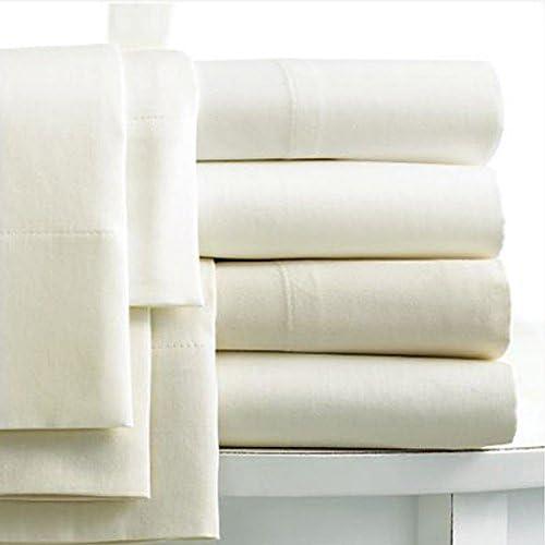 Linens Limited Sábana con Falda 100% algodón Egipcio - Trama 400 Hilos - Crema, Individual: Amazon.es: Hogar