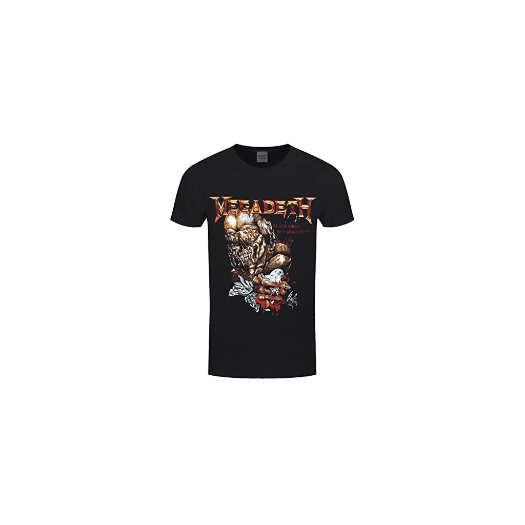 Megadeth Peace Sells but Who's Buying ? Camiseta Negra