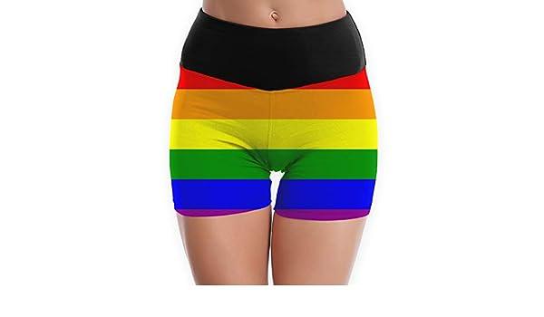 S to XL Tummy Control Sports Pants QfDuank8 Womens Venezuela Map Flag Power Flex Yoga Shorts