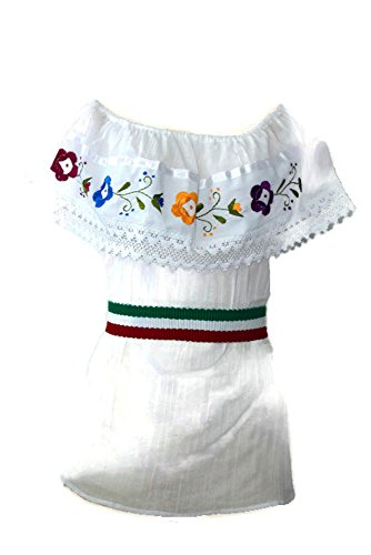 - Traditional Mexican Blouses (White)