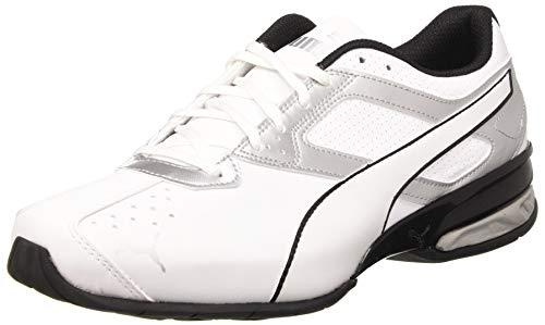 Puma Men's Zapatillas de Running, White Silver Black 01, US:5