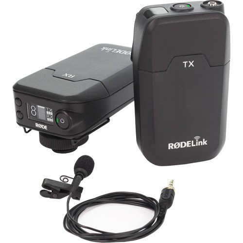 Rode RodeLink Wireless Filmmaker Kit with RodeLink Wireless Case and 4-Hour Rapid Charger