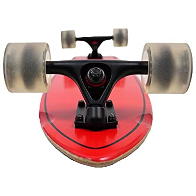 KONA SURF CO. Retro Series Cruiser Complete Skateboard for Kids and Adults : Sports & Outdoors