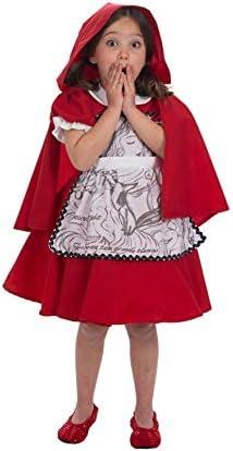 Nines dOnil Disfraz de Caperucita Roja para niña: Amazon.es ...