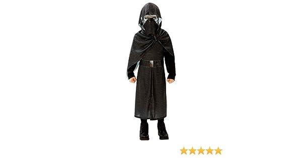 Amakando Atuendo Infantil Star Wars Disfraz Kylo REN Deluxe 140/146 cm años 9 - 10 Vestimenta Sith para niño Traje de Carnaval Chico Atuendo Carnaval ...