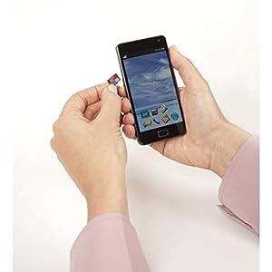SanDisk 512GB Ultra microSDXC UHS-I Memory Card with Adapter - 100MB/s, C10, U1, Full HD, A1, Micro SD Card - SDSQUAR-512G-GN6MA (Tamaño: 512GB)