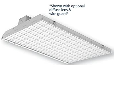 Frosted Diffuser Lens For 140 Watt LED High Bay Warehouse Commercial Shop Light Fixture ETL Listed - 5 Year Warranty