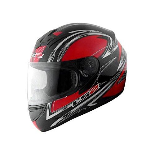 [해외] MHR LS2 BLAST(blast) 풀 페이스 헬멧 다이아몬드 레드 L