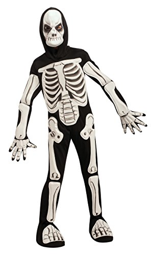 R883937 (Medium 8-10) Skeleton Costume 3D (9 D's Costume)