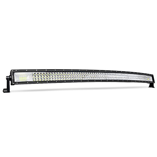 LED Light Bar Nilight 52Inch 783W Curved Triple Row Flood Spot Combo Beam Led Bar 78000LM Driving Lights Boat Lights Led Off Road Lights for Trucks,2 Years Warranty (2008 Compass)