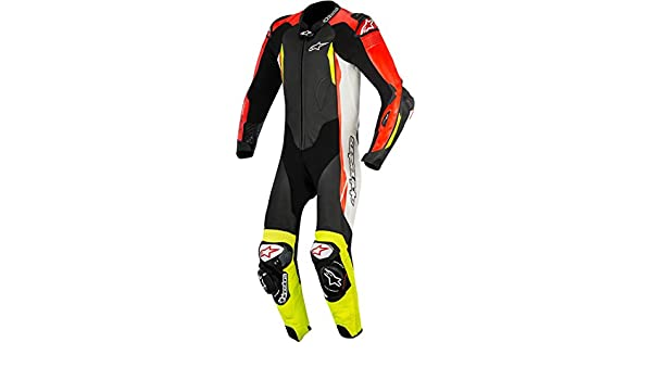 Alpinestars GP Tech V2. Traje de Moto de piel, color blanco ...