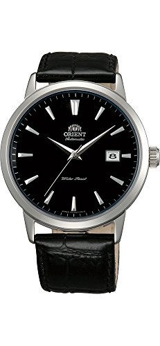 Orient SER2700GB Men's Symphony II Sapphire Crystal Black Dial Leather Band Automatic Watch