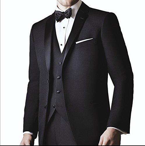 Ike Behar Slim Fit Tuxedo, Black (38S)