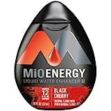 MiO Liquid Water Enhancer - Energy Black Cherry - 1.08oz Squirt Bottle