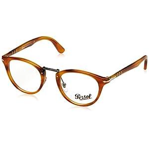 Persol Eyeglasses PO3107V 960 Striped Brown 47 22 145