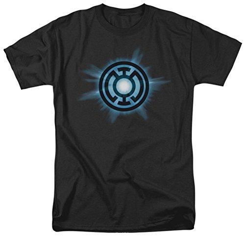 Green Lantern DC Comics Blue Glow Adult T-Shirt Tee  XX-Large (Green Lantern Blue Lantern)